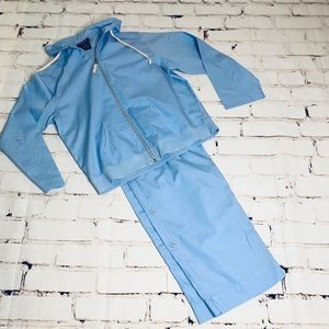 Vintage Catalina baby blue tracksuit size Small